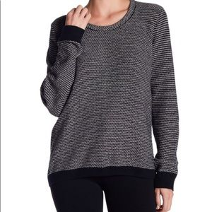 Madewell Riverside Textured Sweater in Dot Weave